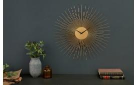 Designer Wanduhr SUN GOLD 70 cm