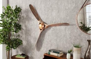 Designer Propeller HELIX GOLD 90 cm von NATIVO™ Designer Möbel Österreich