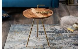 Designer Couchtisch SIMPLY GOLD 36 cm