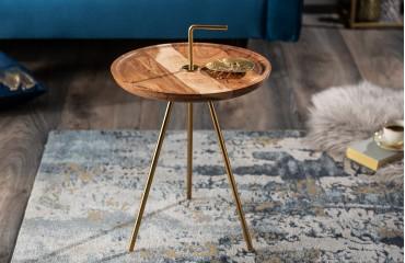 Designer Couchtisch SIMPLY GOLD 36 cm von NATIVO™ Designer Möbel Österreich