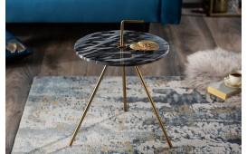 Designer Couchtisch SIMPLY GREY 36 cm