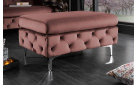 Designer Sitzhocker ROCCO BIG ROSE