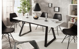 Designer Esstisch CRIB WHITE 140-180 cm von NATIVO™ Designer Möbel Österreich