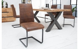 2 x Designer Stuhl MARTA BROWN