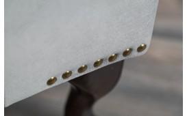 Designer Sitzhocker CHESTERFIELD SIVER GREY von NATIVO™ Designer Möbel Österreich
