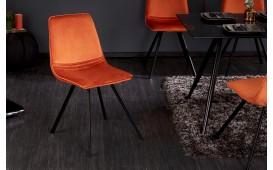 4 x Designer Stuhl DELFT ORANGE