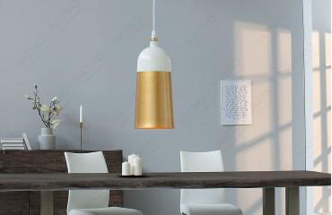 Designer Hängeleuchte MOD I 31 cm WHITE GOLD