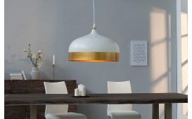 Designer Hängeleuchte MOD II 33 cm WHITE-GOLD von NATIVO™ Designer Möbel Österreich