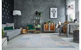 Designer Teppich ESTE II BLUE von NATIVO™ Designer Möbel Österreich