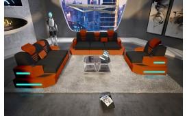 Designer Sofa NEMESIS 3+2+1 mit LED Beleuchtung & USB Anschluss von NATIVO™ Designer Möbel Österreich