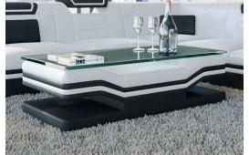 Designer Couchtisch ROUGE (Weiss / Schwarz) ab Lager NATIVO™ Möbel Österreich