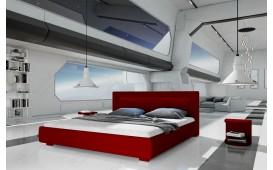 Designer Polsterbett MOON v2 mit Beleuchtung NATIVO™ Möbel Österreich