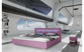 Designer Polsterbett MOON mit Beleuchtung NATIVO™ Möbel Österreich