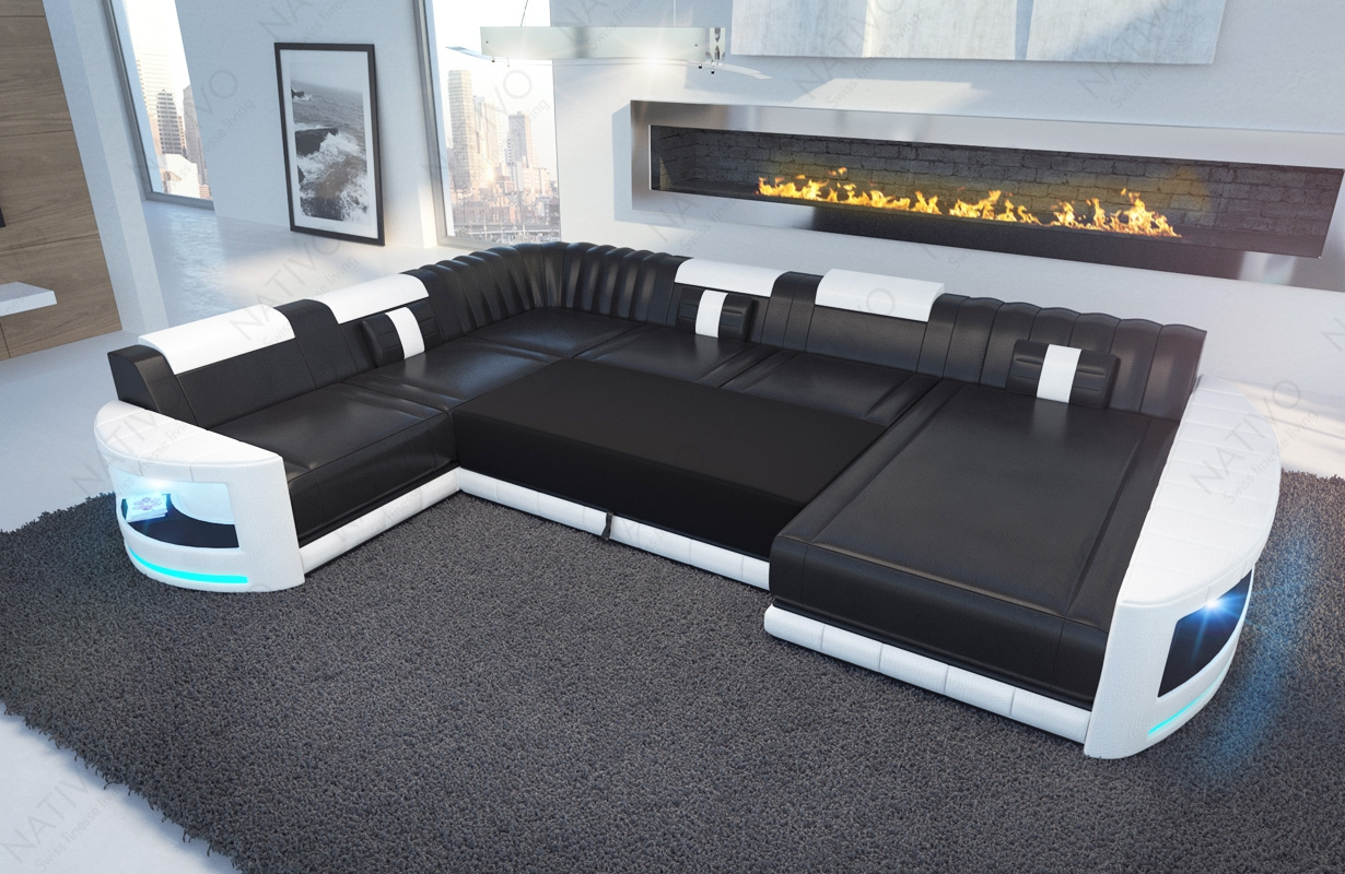 ledersofa atlantis bei nativo m bel oesterreich g nstig. Black Bedroom Furniture Sets. Home Design Ideas