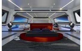 Designer Bett COCO V2 mit Beleuchtung NATIVO™ Möbel Österreich