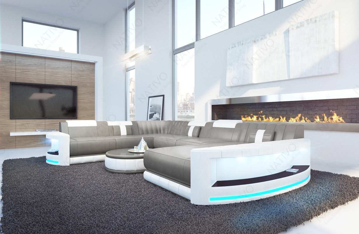 ledersofa atlantis bei nativo m bel oesterreich g nstig. Black Bedroom Furniture Sets. Home Design Ideas