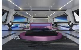 Designer Bett COCO mit Beleuchtung NATIVO™ Möbel Österreich