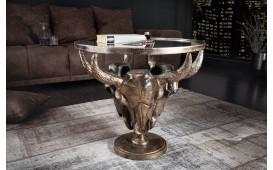 Designer Couchtisch TORRERO BRONZE 56 cm