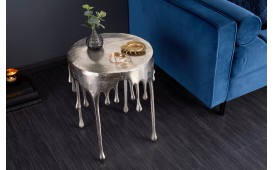 Designer Beistelltisch LIQUOR SILVER 51 cm von NATIVO™ Designer Möbel Österreich