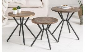 Designer Beistelltisch FABRIK GREY SET 3 von NATIVO™ Designer Möbel Österreich