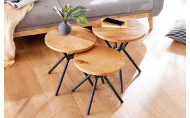 Designer Beistelltisch FABRIK SET 3 von NATIVO™ Designer Möbel Österreich