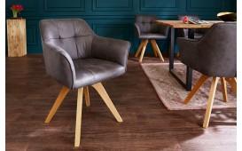 Designer Stuhl RIFLE GREY ANTIK