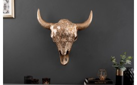 Designer Wandskulptur TORRERO GOLD MOSAIC 56 cm