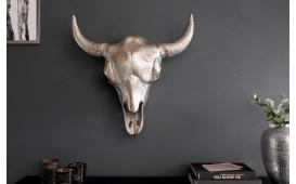 Designer Wandskulptur TORRERO SILVER 56 cm