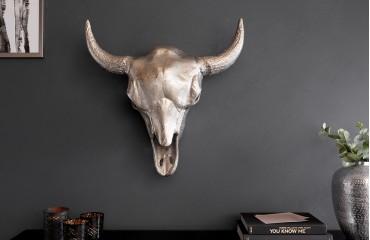 Designer Wandskulptur TORRERO SILVER 56 cm von NATIVO™ Designer Möbel Österreich