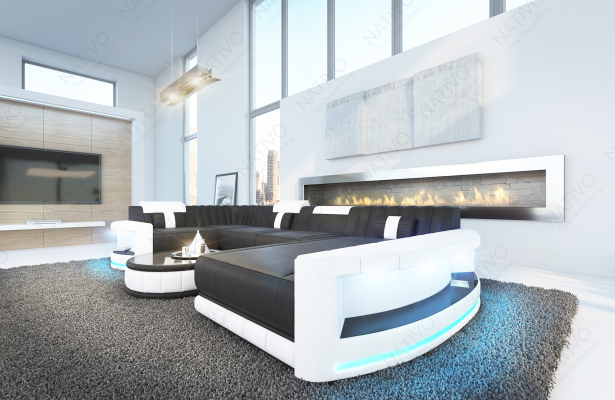 ledersofa atlantis xl bei nativo m bel oesterreich g nstig. Black Bedroom Furniture Sets. Home Design Ideas