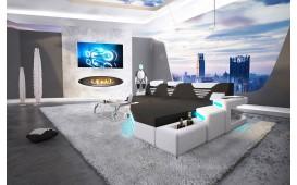 Designer Sofa NEMESIS MINI mit LED Beleuchtung & USB Anschluss
