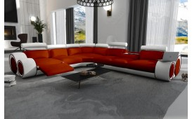 Designer Sofa BARCA CORNER inkl. Relax-Funktion