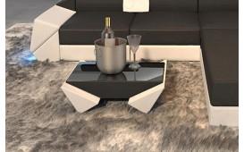 Designer Couchtisch AVATAR (Weiss / Schwarz) AB LAGER NATIVO™ Möbel Österreich
