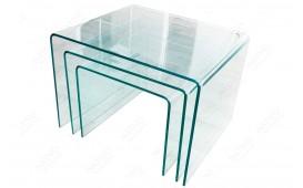 Designer Couchtisch CLEAR II Set 3-NATIVO™ Designer Möbel Österreich