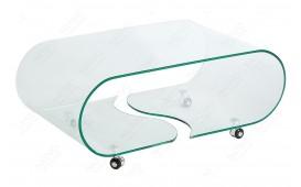 Designer Couchtisch CLEAR ROND-NATIVO™ Designer Möbel Österreich