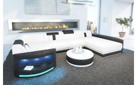 Designer Sofa ATLANTIS XL mit LED Beleuchtung