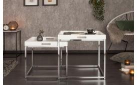 Designer Beistelltisch UNITY WHITE SET 2-NATIVO™ Designer Möbel Österreich