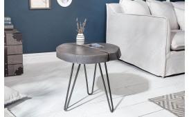Designer Beistelltisch DOA GREY 43 cm-NATIVO™ Designer Möbel Österreich