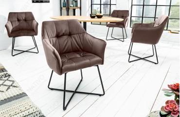 2 x Designer Stuhl RIFLE BROWN-NATIVO™ Designer Möbel Österreich