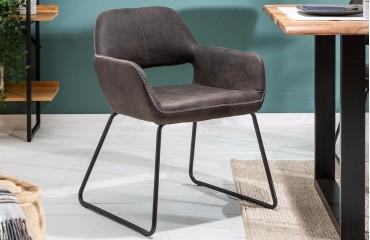 2 x Designer Stuhl SHELBY DARK GREY-NATIVO™ Designer Möbel Österreich
