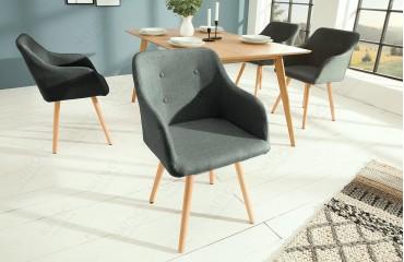 2 x Designer Stuhl SQUARE DARK-NATIVO™ Designer Möbel Österreich