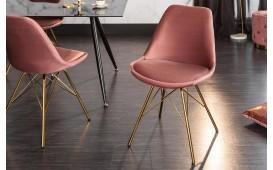 2 x Designer Stuhl SCANIA RETRO ROSE-GOLD-NATIVO™ Designer Möbel Österreich