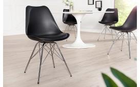 4 x Designer Stuhl SCANIA RETRO BLACK-NATIVO™ Designer Möbel Österreich