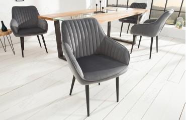 2 x Designer Stuhl PIEMONT GREY-NATIVO™ Designer Möbel Österreich