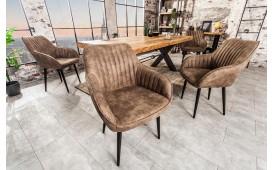 2 x Designer Stuhl PIEMONT BROWN-NATIVO™ Designer Möbel Österreich