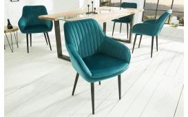2 x Designer Stuhl PIEMONT BLUE