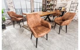 2 x Designer Stuhl PIEMONT LIGHT BROWN-NATIVO™ Designer Möbel Österreich