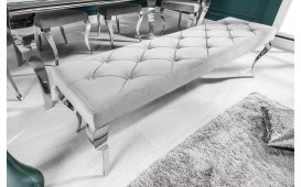 Designer Polsterbank ROCCO SILVER 170 cm-NATIVO™ Designer Möbel Österreich