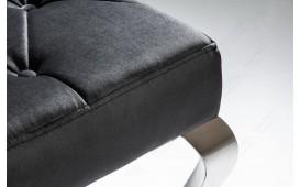 Designer Polsterbank ROCCO BLACK 170 cm-NATIVO™ Designer Möbel Österreich
