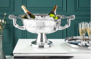 Designer Champagner-Kühler CAMPANIE SILVER S-NATIVO™ Designer Möbel Österreich